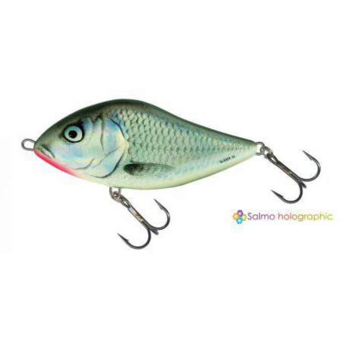 SLIDER SINKING 7CM /HOLO GREY SHINER