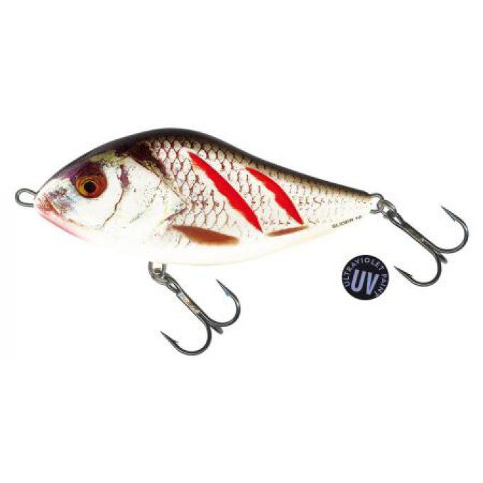 SLIDER SINKING 12 CM / WOUNDED REAL GREY SHINER