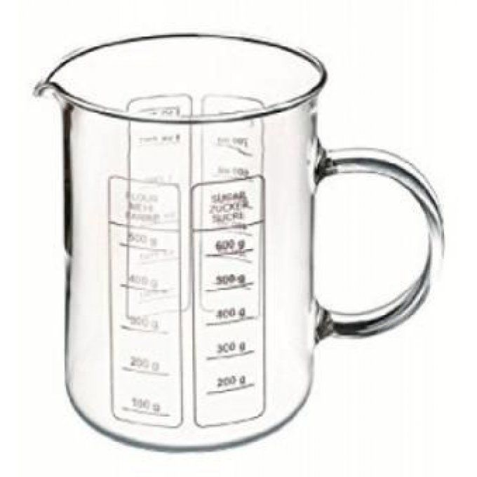 BECHER LABO 500 ML