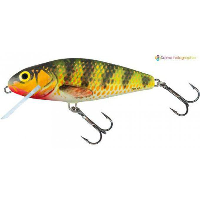 PERCH SUPER DEEP RUNNER 12 CM - HOLOGRAPHIC PERCH