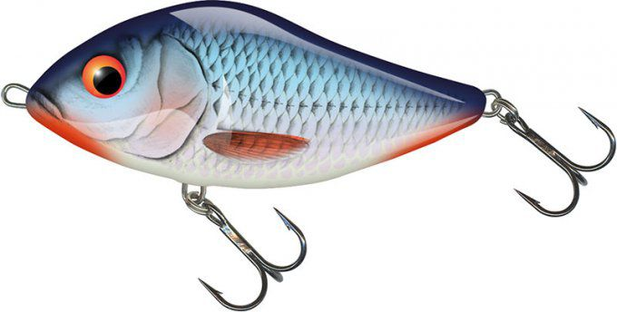 SLIDER FLOATING 7 CM / BLEEDING BLUE SHAD